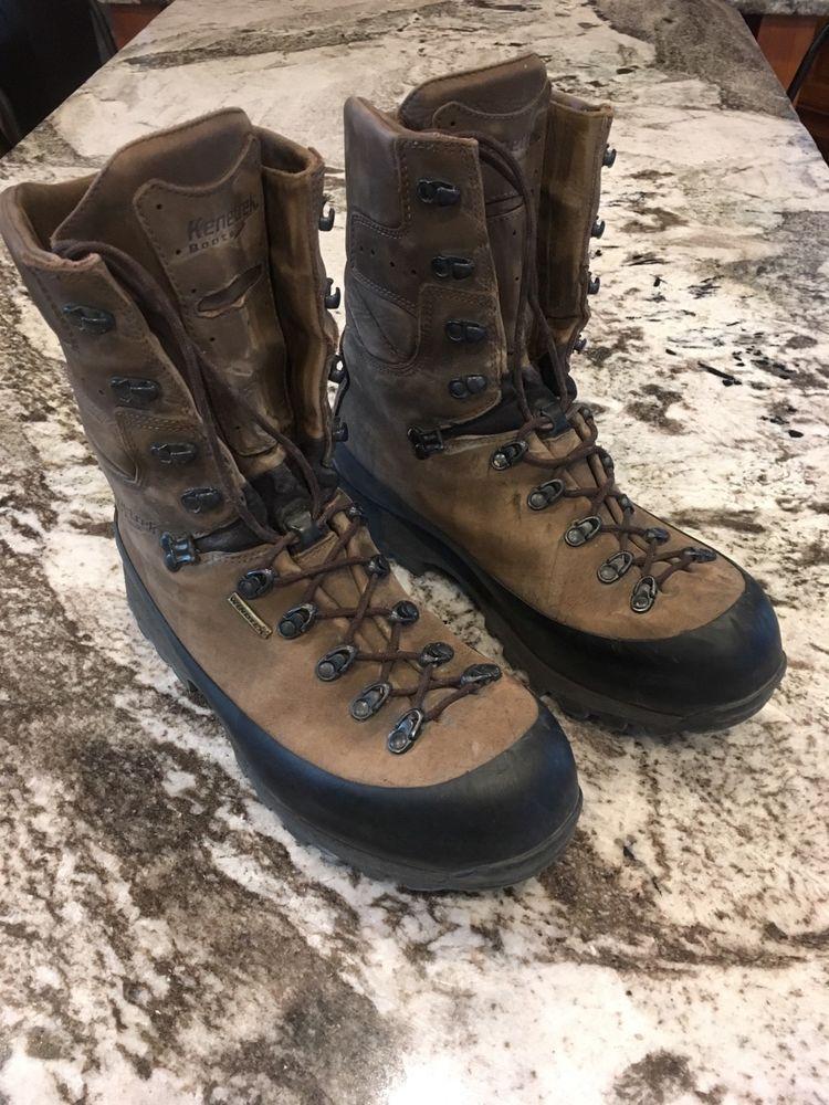 a711cc1d80e Men's Kenetrek Mountain Extreme Waterproof Boots Non Insulated size ...