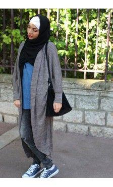 Collection de Capes et Cardigans - Vêtement fashion pour femme musulmane -  Mayssa Sexy Teens, 78941d213cbc