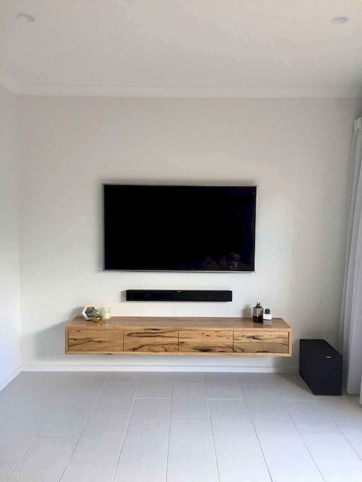 80 Amazing Living Room Tv Wall Decor Ideas And Remodel 19 Livingmarch Com Floating Shelves Living Room Living Room Tv Wall Living Room Tv