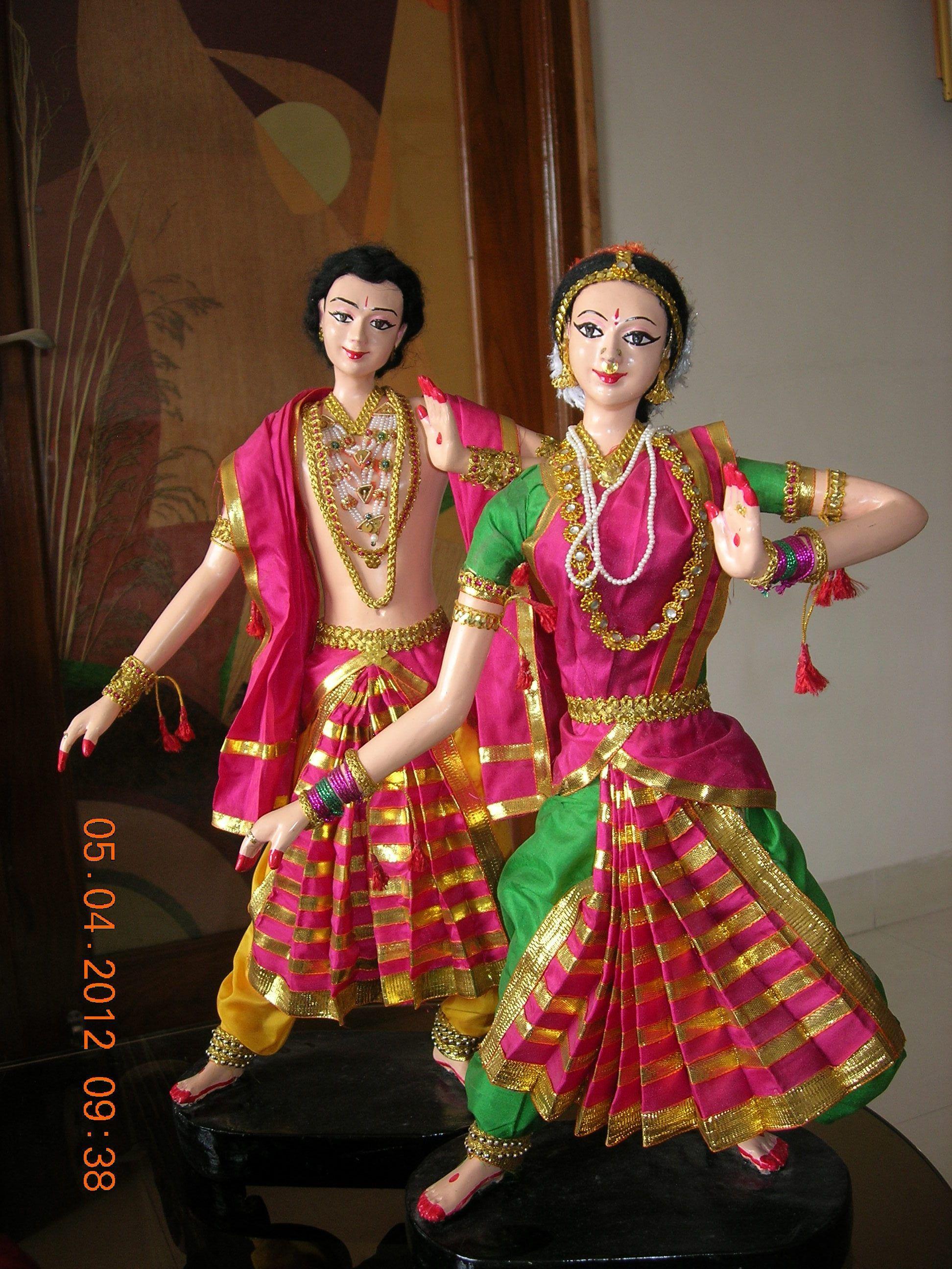 Dance of india dolls indian dolls wedding doll dance