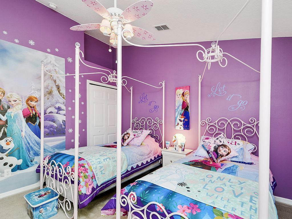 20 Lovely Frozen Themed Room Decor Ideas Your Kids Will Love