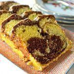 Rezept für saftigen Marmorkuchen #apfelrosenmuffins