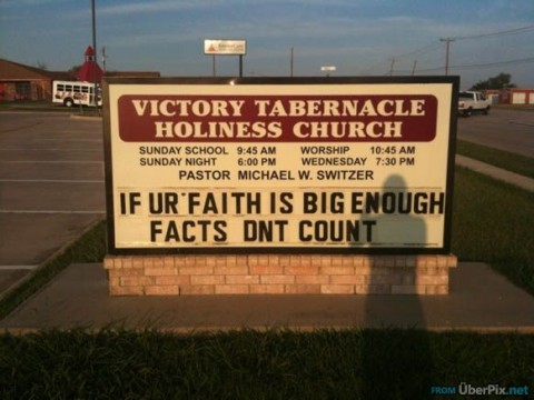 Oh dont they? Wasnt sure whether to pin this to anti-theism or funny stuff...