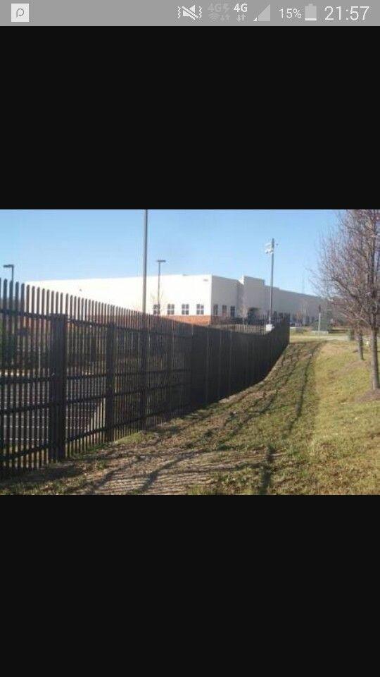 Black fencing