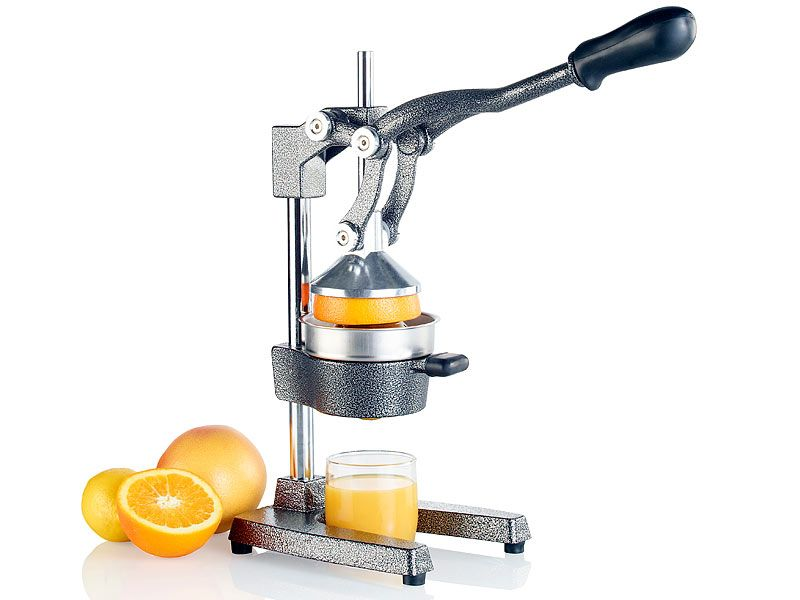 Gastro Saftpresse Granatapfel orange Entsafter Zitruspresse