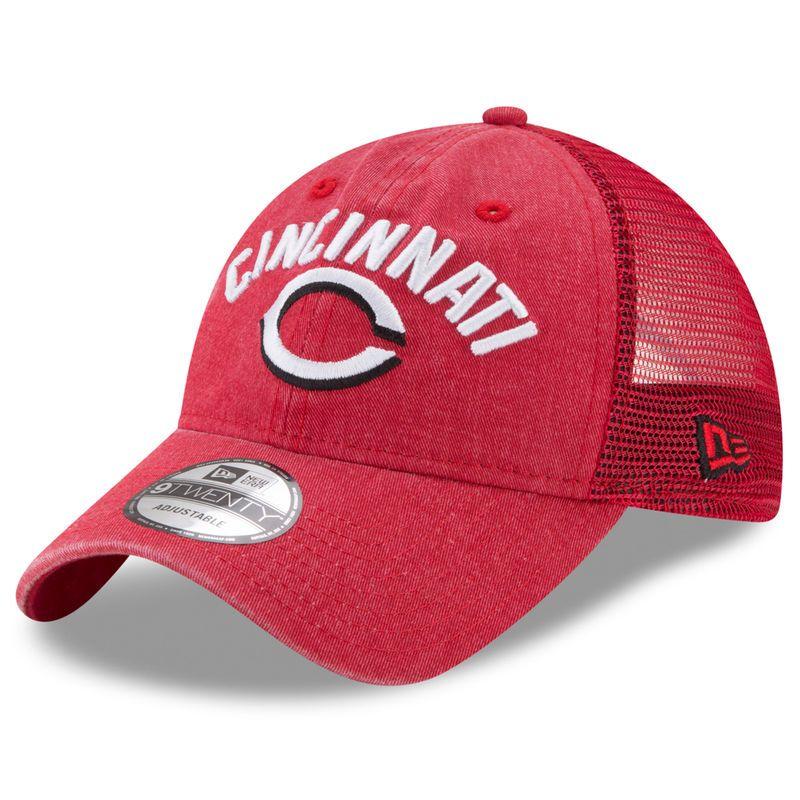 free shipping 7c84d c9d4c Cincinnati Reds New Era Rugged Team 9TWENTY Snapback Adjustable Hat - Red