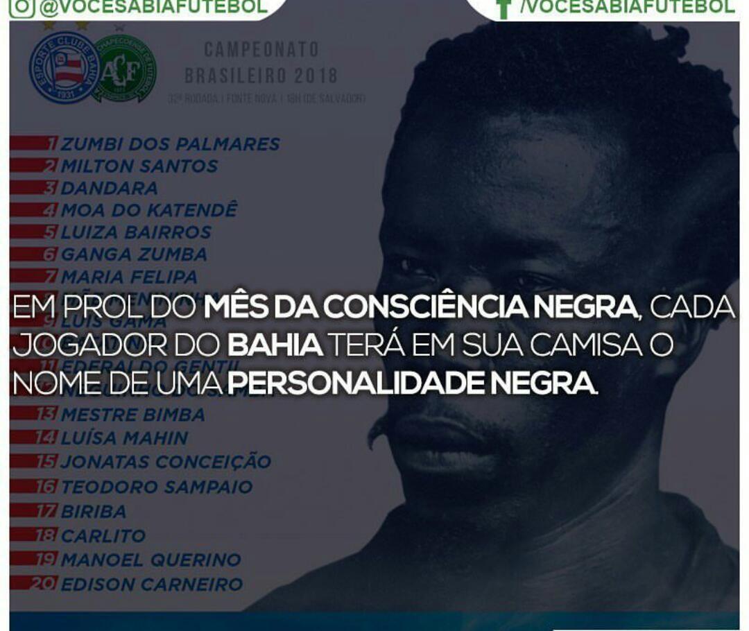 Pin De Samuell Borges Em Futebol Jogadores Do Bahia Zumbi Dos Palmares Zumba