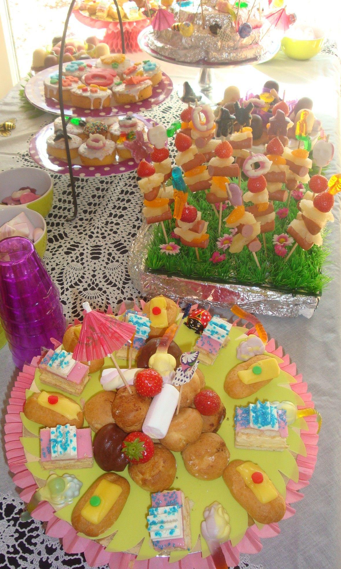 Wonderlijk Leuk voor kinderfeestje. Kinder high tea. foto van is van www FW-19