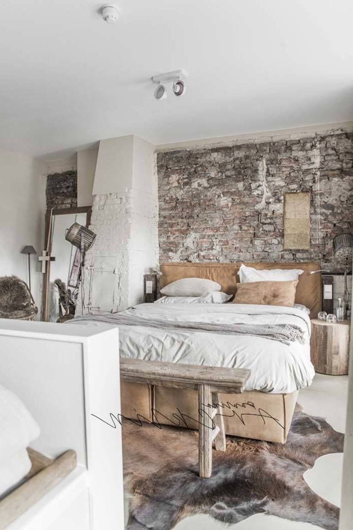 35 Edgy Industrial Style bedrooms make a statement # ...