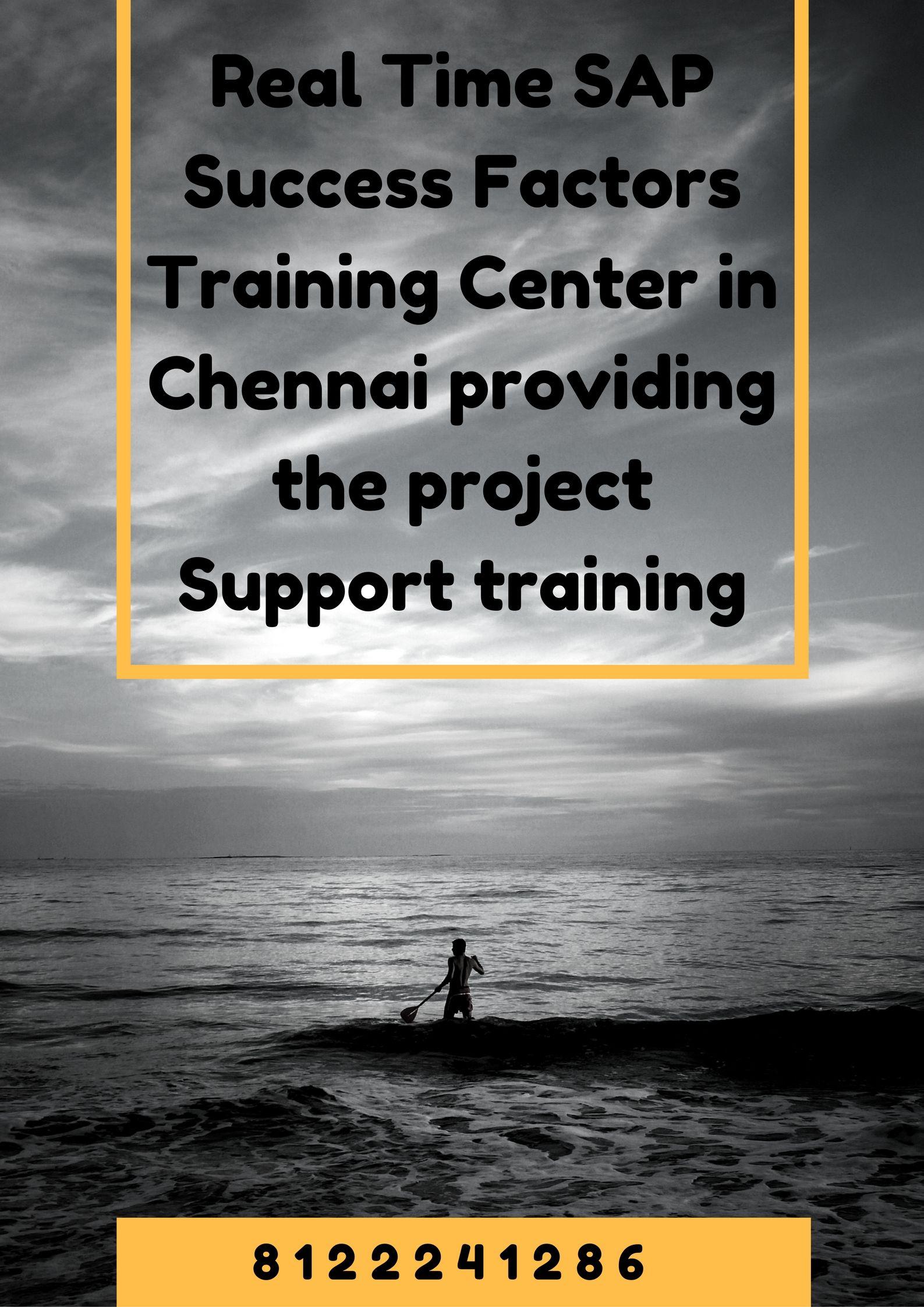 Get the best sap successfactors training institute in