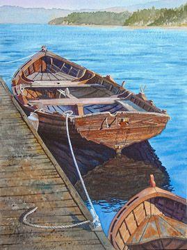 Ray Hunter, Watercolor