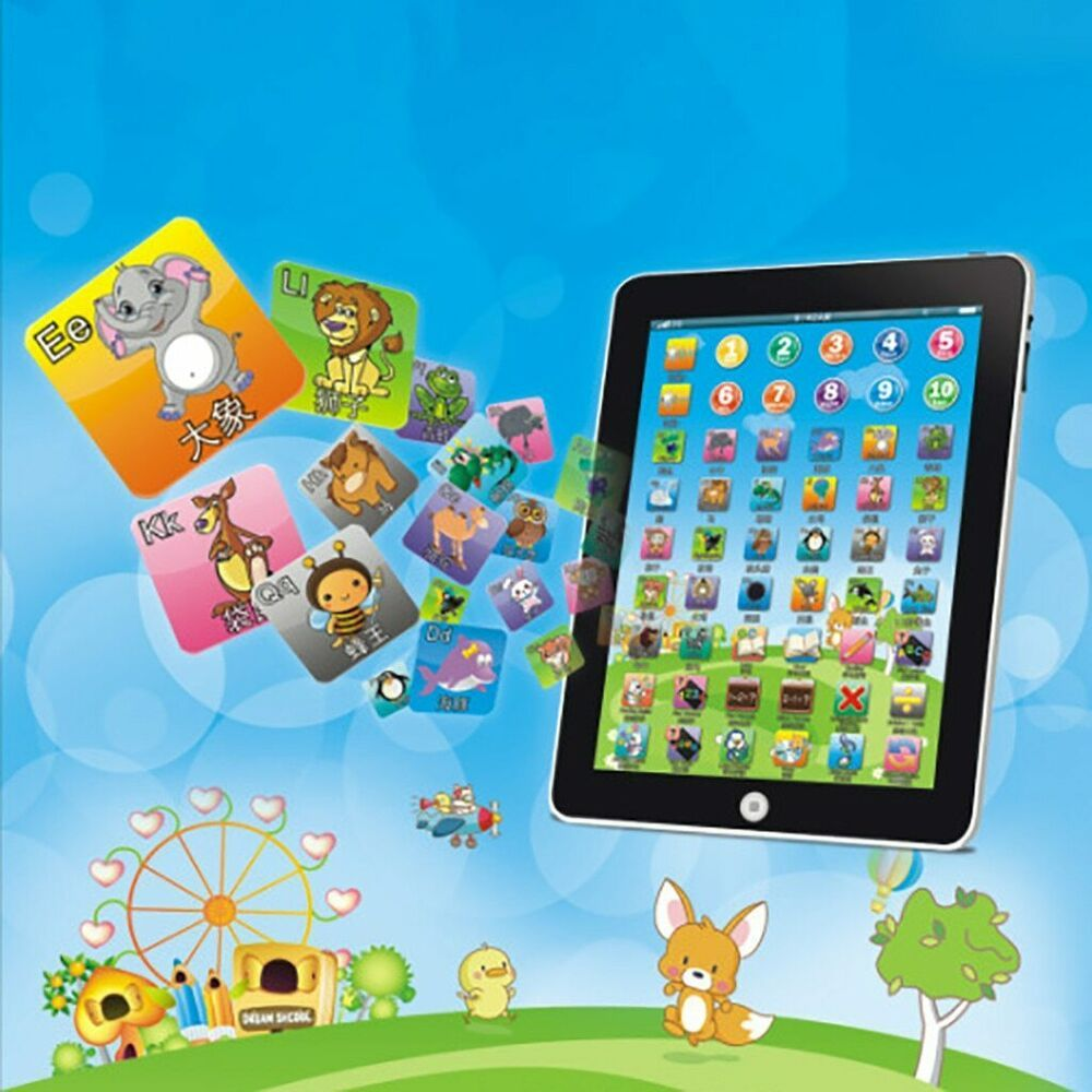Details about BABY TABLET EDUCATIONAL TOY FOR 1-6 YEAR OLD ...