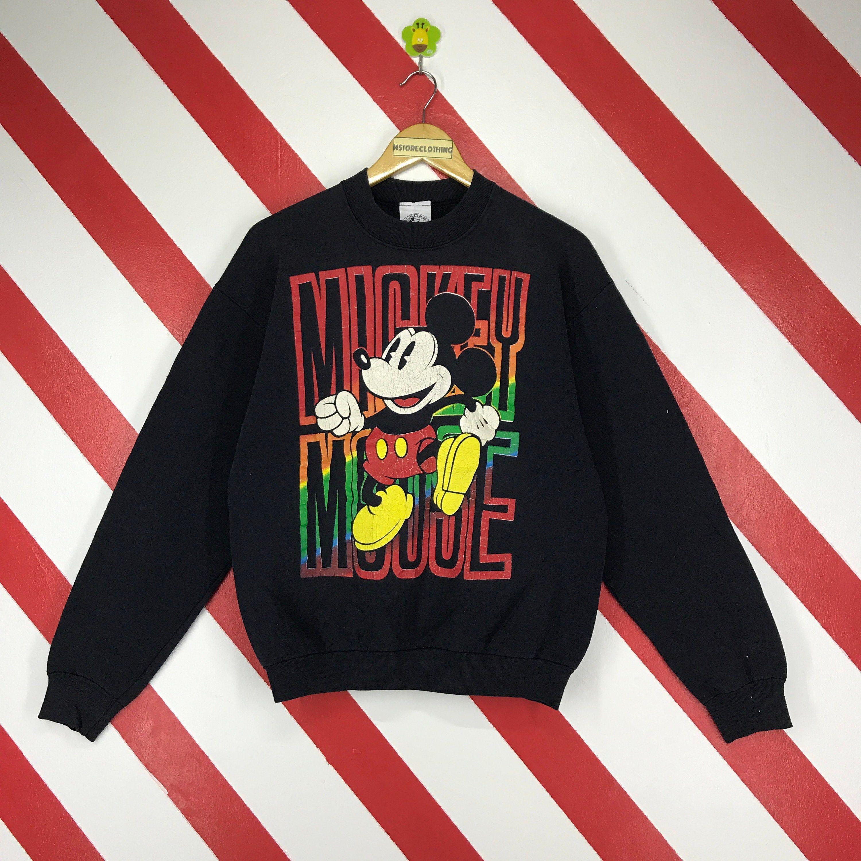 Vintage 90s Mickey Mouse Sweatshirt Crewneck Disney Mickey Etsy Mickey Sweatshirt Mickey Mouse Sweatshirt Sweatshirts [ 3000 x 3000 Pixel ]