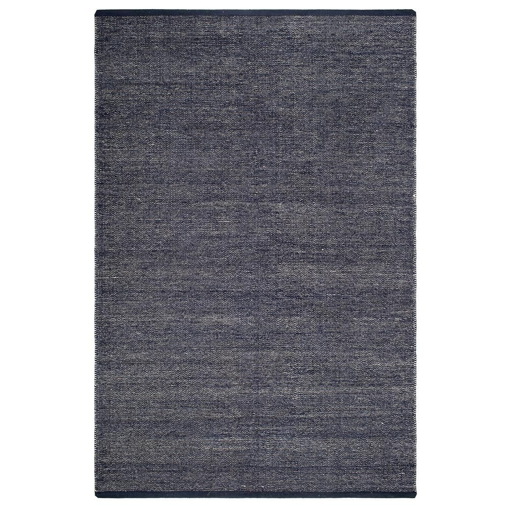 Fab Habitat Waterloo Denim Cotton Handwoven 8 X 10 Cotton