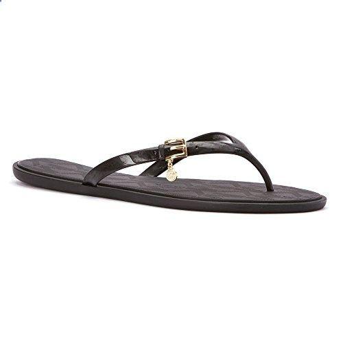 Michael Kors Emory Charm Women's Flip Flop #Sandals #Black Size 8. More  description