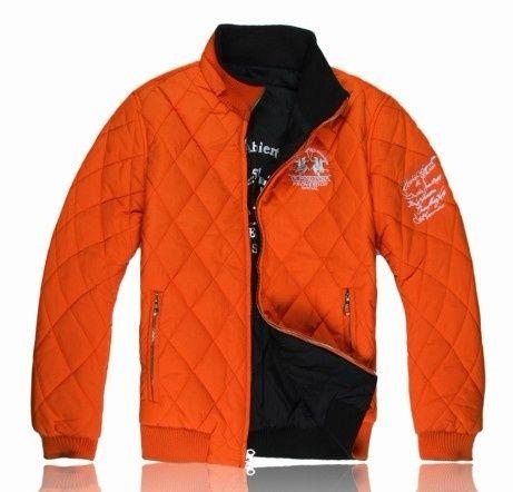 officiel Ralph Lauren doudoune double usage style france orange Doudoune  Ralph Lauren Homme Pas Cher e36f805c94e