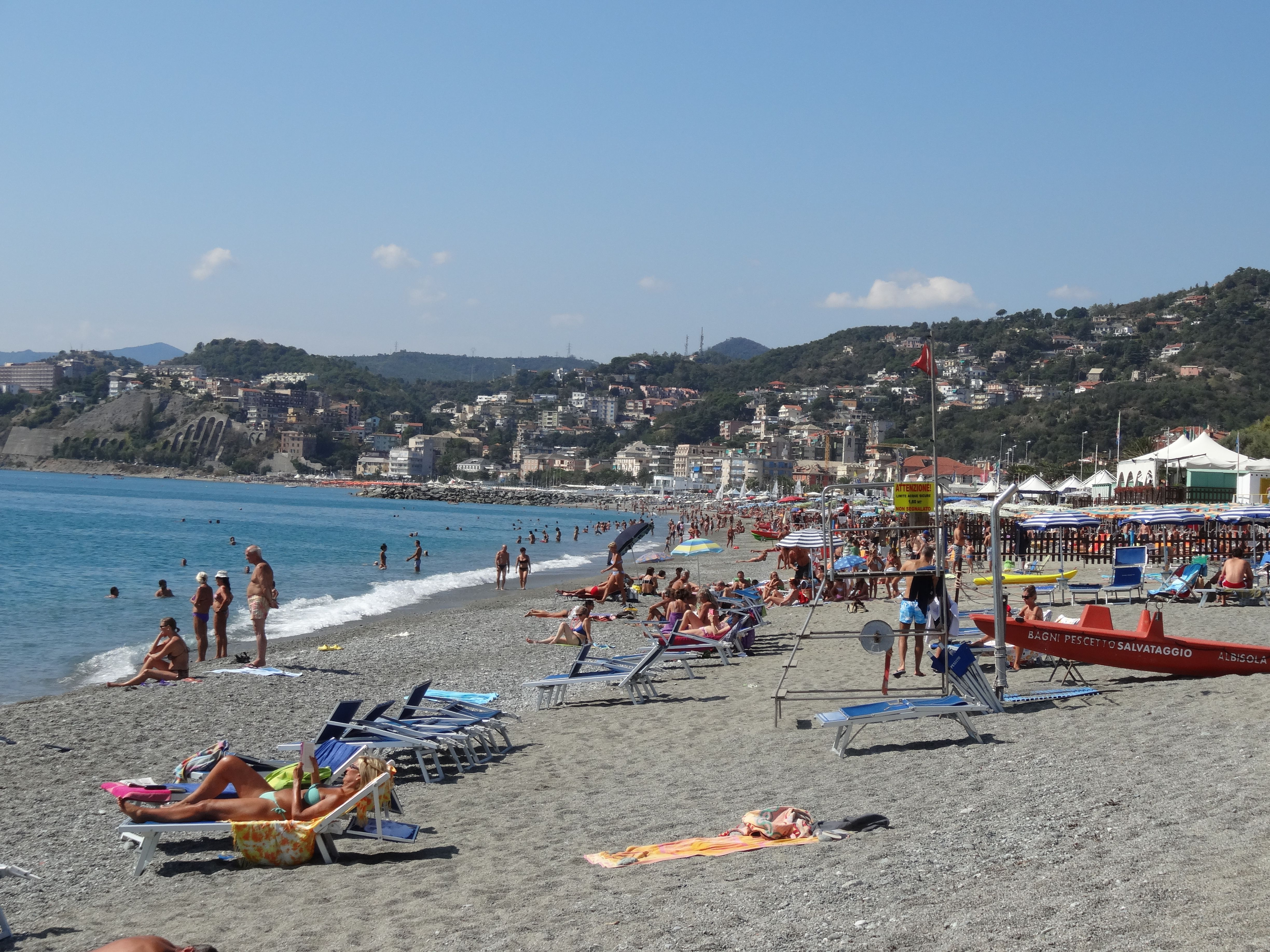 Bagni Pescetto : Abisola italy at the end of the season 2012 places i have