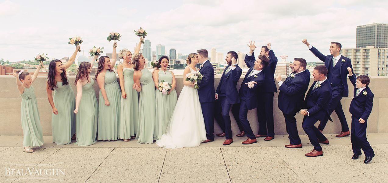 Dusty Sage Bridesmaids Dresses And Navy Groomsmen Sage Bridesmaid Dresses Bridesmaid Dresses Dusty Sage Sage Green Wedding