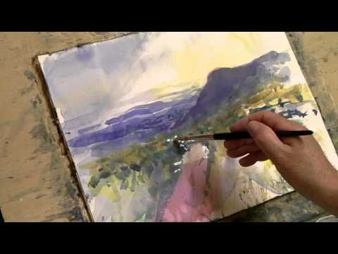 Loose Watercolor Lesson Part 1 Youtube Loose Watercolor