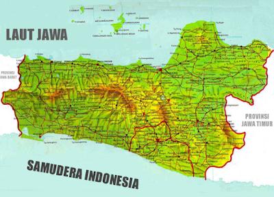 Peta Buta Jawa Tengah Peta Sejarah Gambar