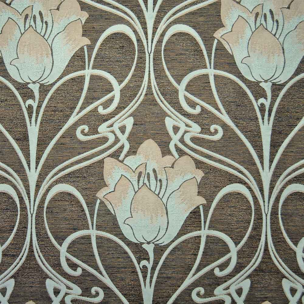 Art Deco Nouveau: Art Deco Art Nouveau Curtain And Upholstery Fabric