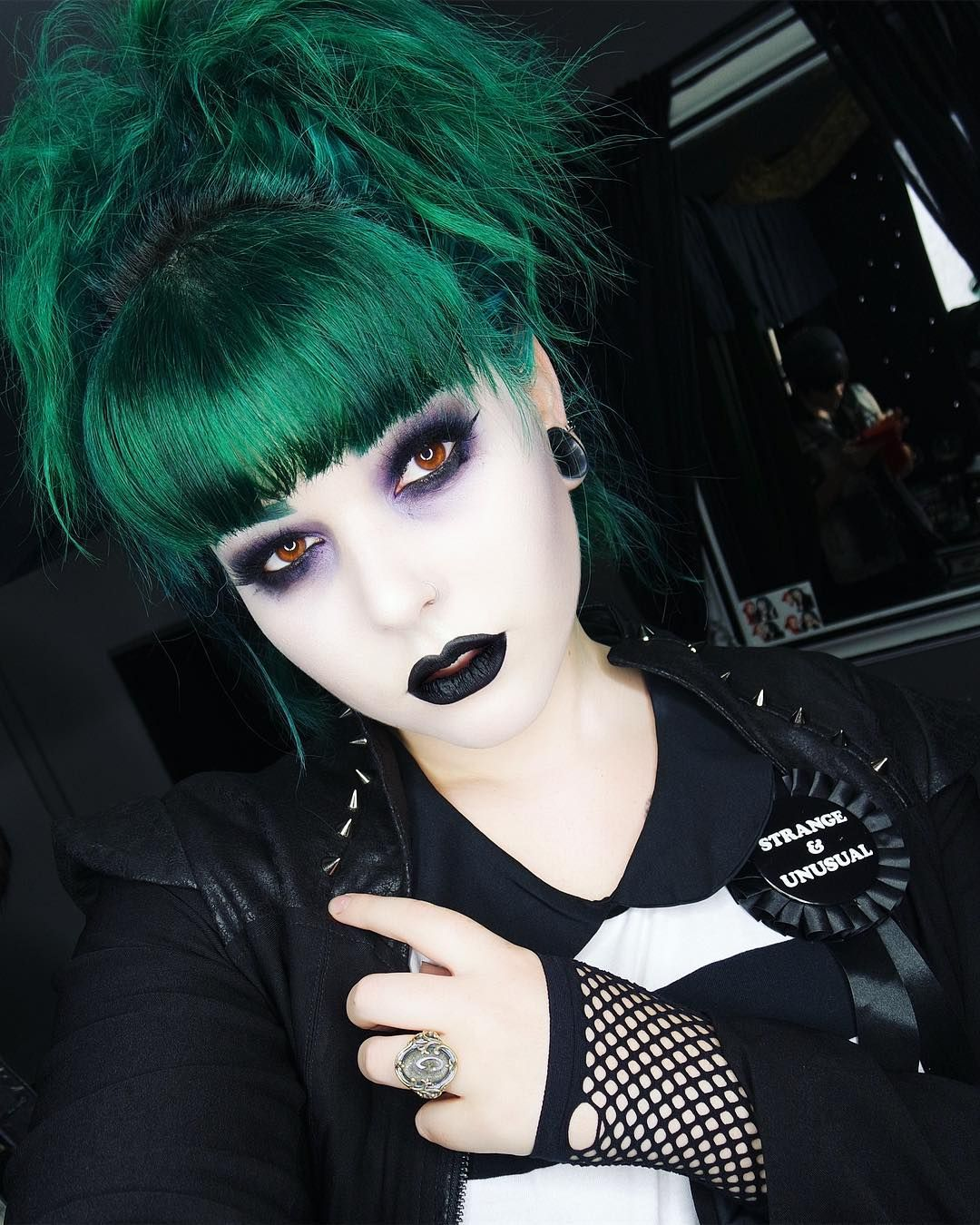 Enjoyable Pin By Morgana Lilith On Hairdo Gothic Hairstyles Goth Hair Natural Hairstyles Runnerswayorg