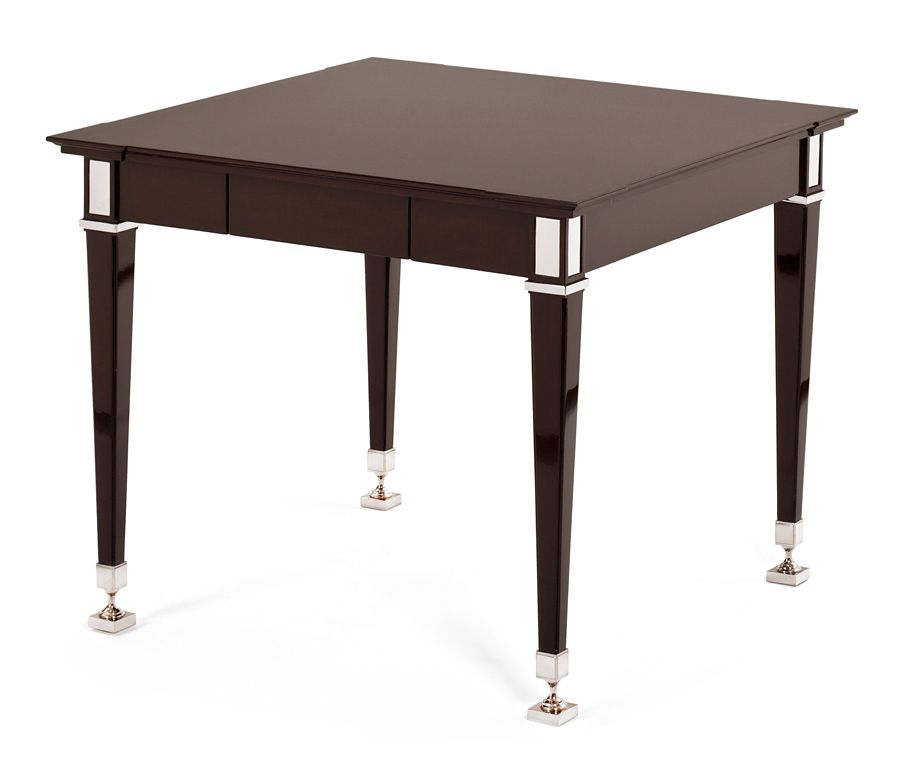 4502 36 Marchand Game Side Table Wood Dinning Table Furniture