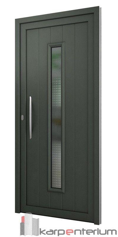 Puerta moderna av150 1v lc puertas en 2019 for Puertas corredizas de metal