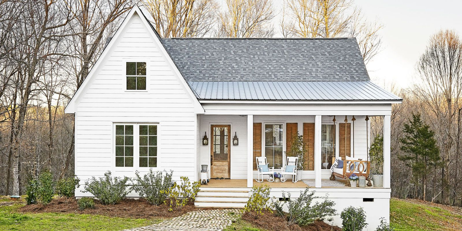 simple farmhouse plans inside a mississippi farmhouse that fits a family of 6 modern farmhouse exterior white 7302
