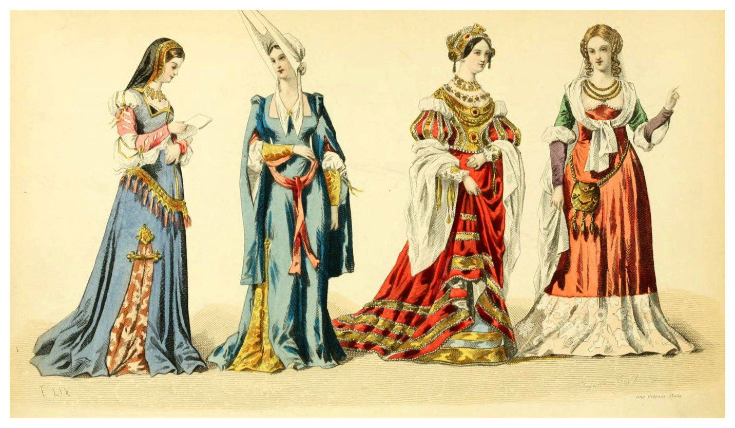 история костюма в картинках модами что
