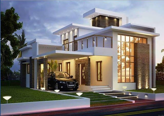 Two Floor Houses With 3rd Floor Serving As A Roof Deck Rumah