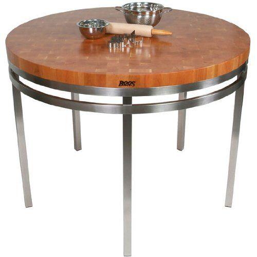 Superieur Metropolitan Designer Prep Table With Butcher Block Top John Boos  Http://www.