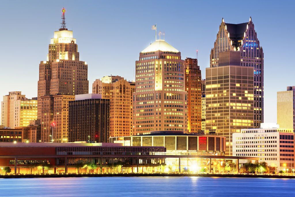 Downtown Detroit skyline by Tony Shi on  Flickr - Photo Sharing!