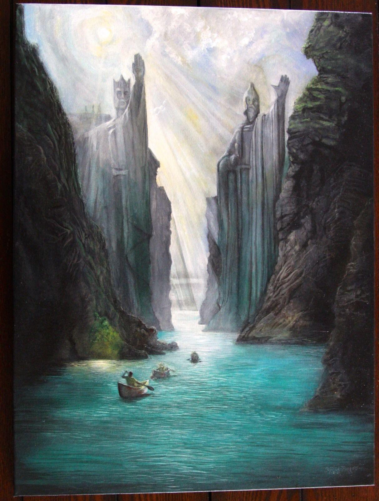 Lotr Acrylic Paintings