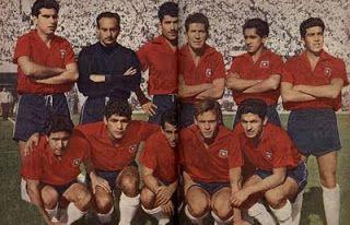 RBN Sports - Graphics: Reedición - Selección Chilena 1962