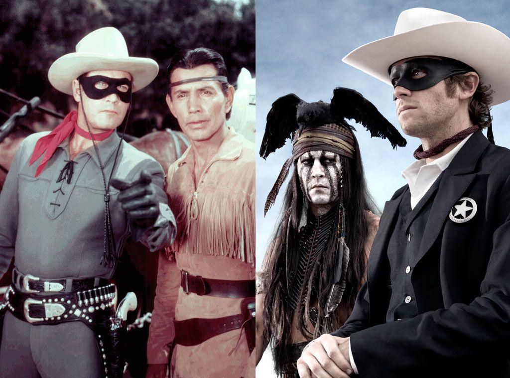Lone Ranger 1949 to  2013