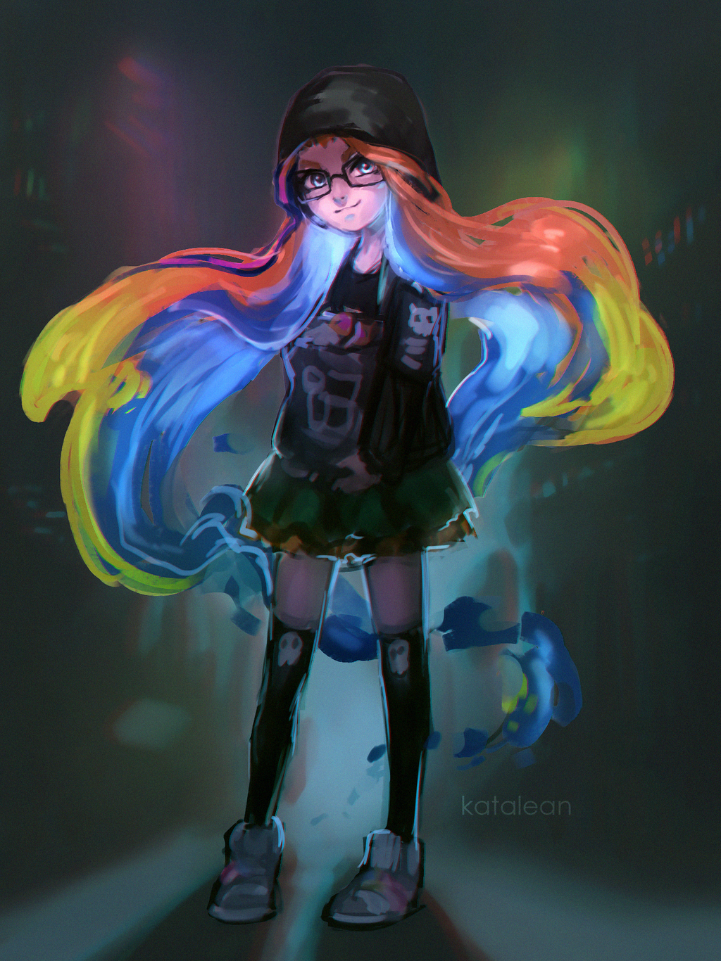 Hacker Zoe by redcat-bear
