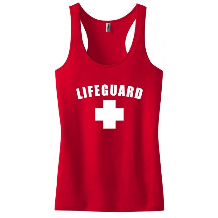 2d38b2e8850 Women s Lifeguard Tank Top - Red