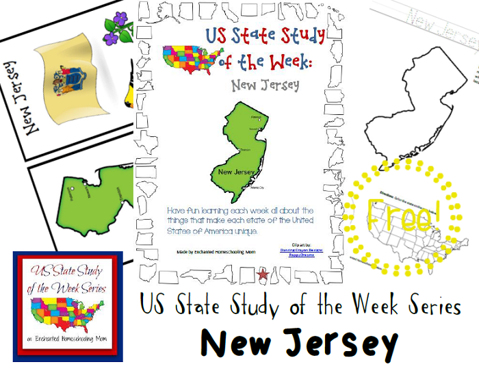 Free New Jersey State Study Pack 3rd Grade Social Studies