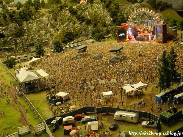 世界一のジオラマテーマパーク Miniatur Wunderland① ハンブルク:野外フェス!