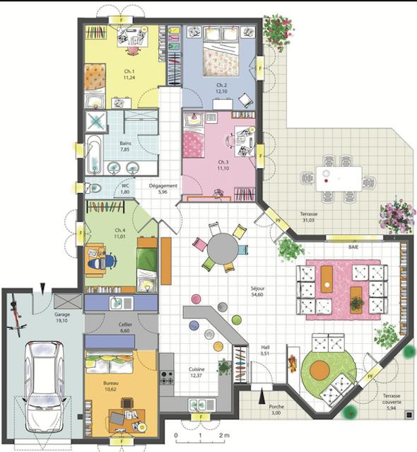 Villa grundriss sims 3  Pin von Fernanda Pamplona auf Houses, projects and ideas ...