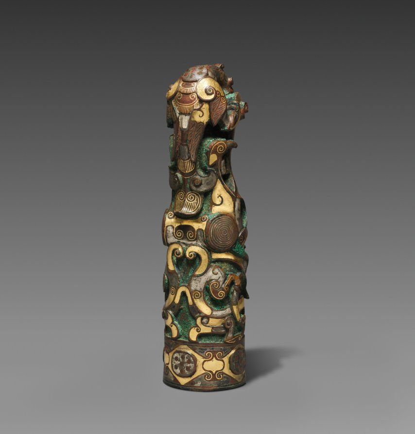 Finial Chinese Art Weapons Ancient