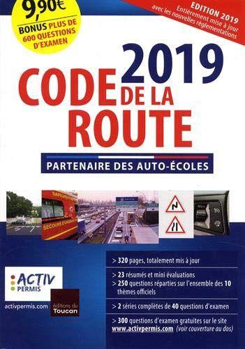 Telecharger Pdf Code De La Route 2019 Epub Livre Par Activ Permis Gratuit Telecharger Pdf Telechargement Code De La Route