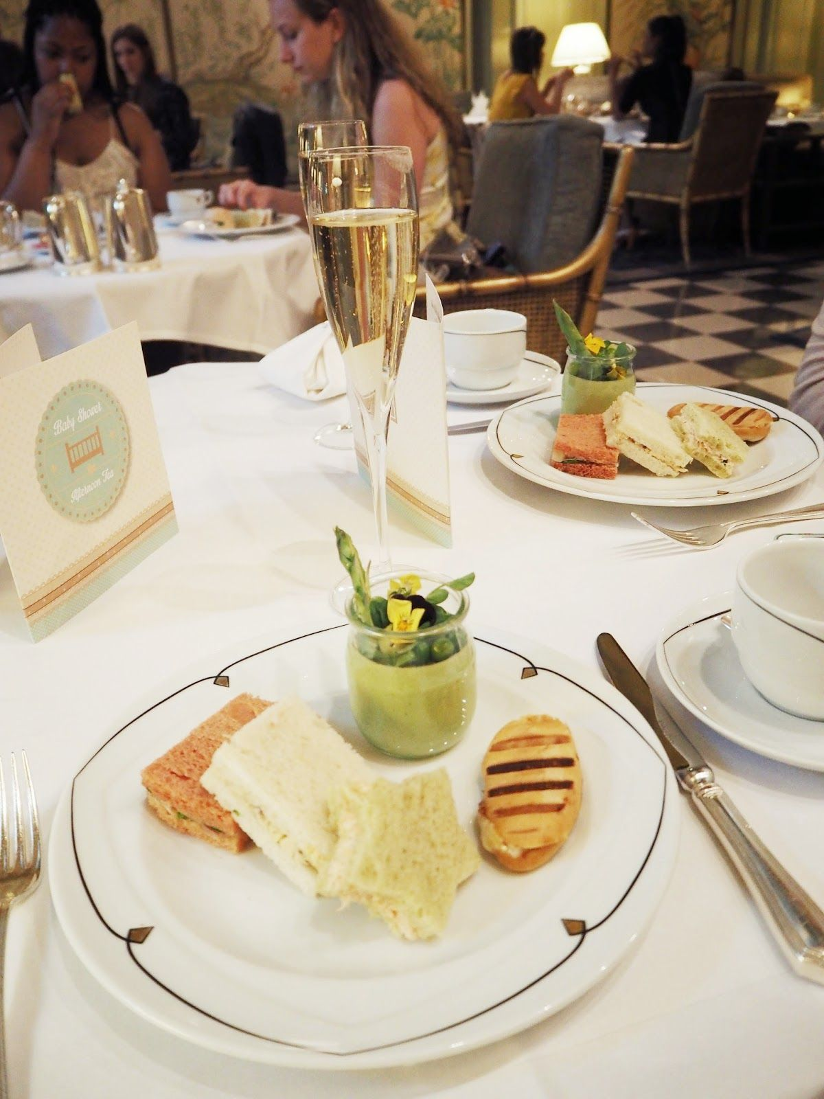 A Royal Baby Shower Afternoon Tea Food Pinterest Afternoon