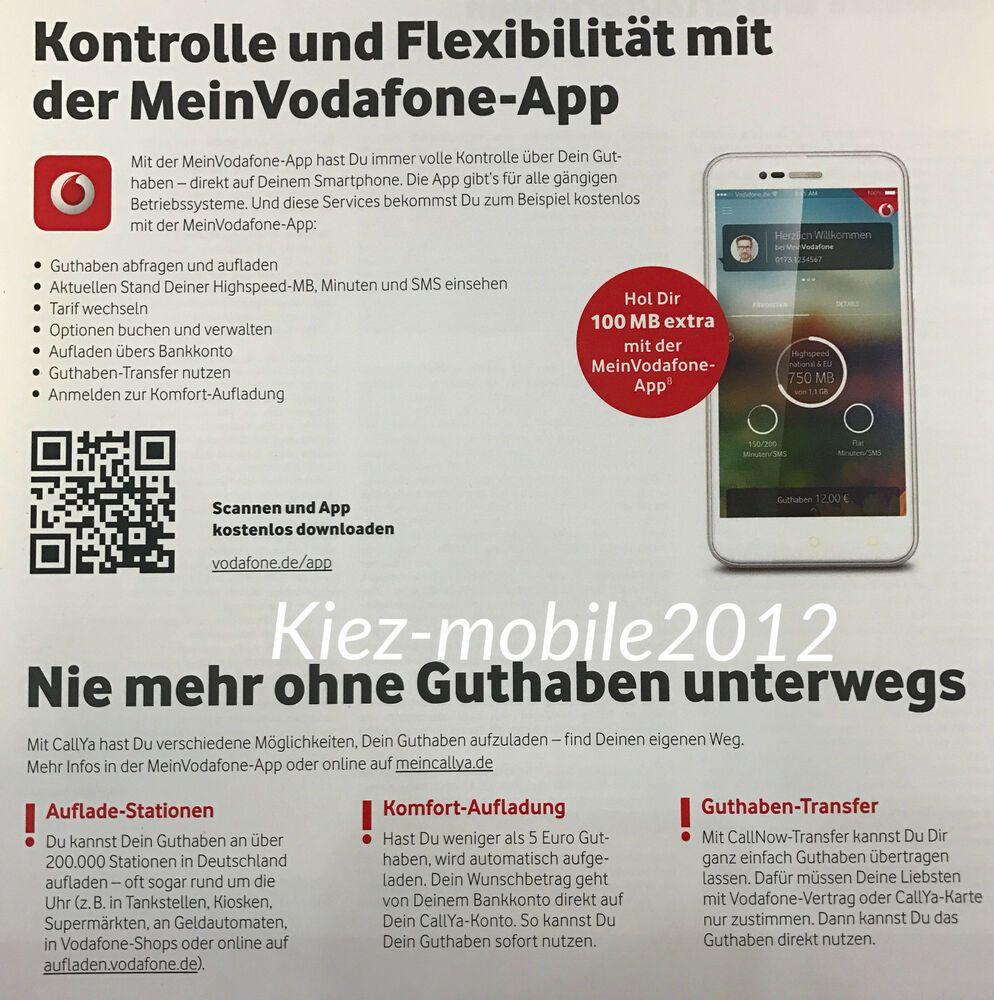 Ebay Sponsored Vodafone D2 Callya Smartphone Talk Sms 0162 706 1001 Smartphone Sim Karte Ebay