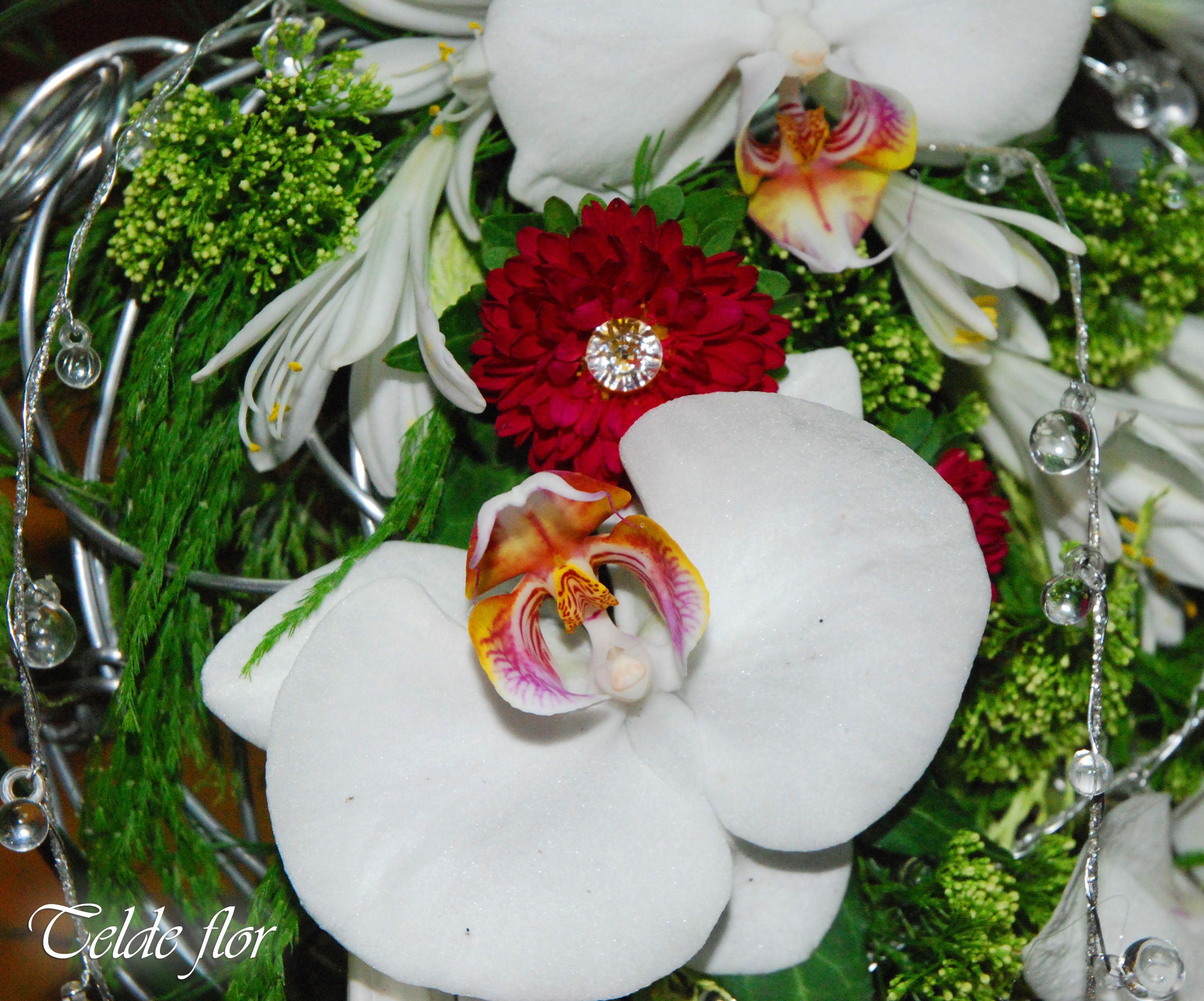 Detalle Ramo de Novia Ramos de Novia floristería Telde flor Bodas Ciudad de Telde