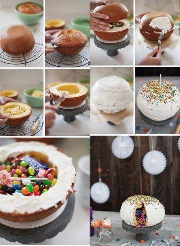 Pinata Cake Fußballkuchen Für Die Wm Ideen Rund Ums Schlemmen
