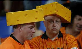 All Dutchman are cheese-heads