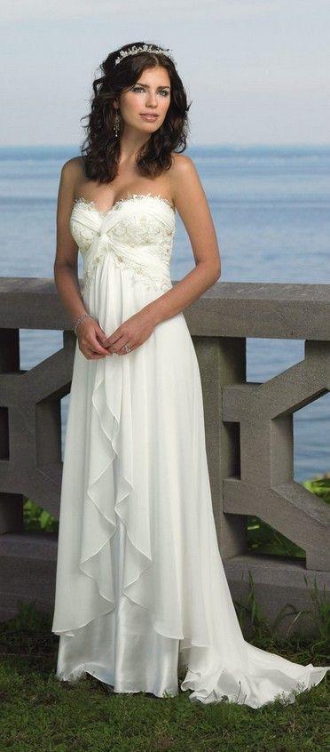 Victoria S Secret Style Bridal Gowns Beach Weddings Vow Renewal Destinations Chiffon Wedding Dress Beach Online Wedding Dress Destination Wedding Dress