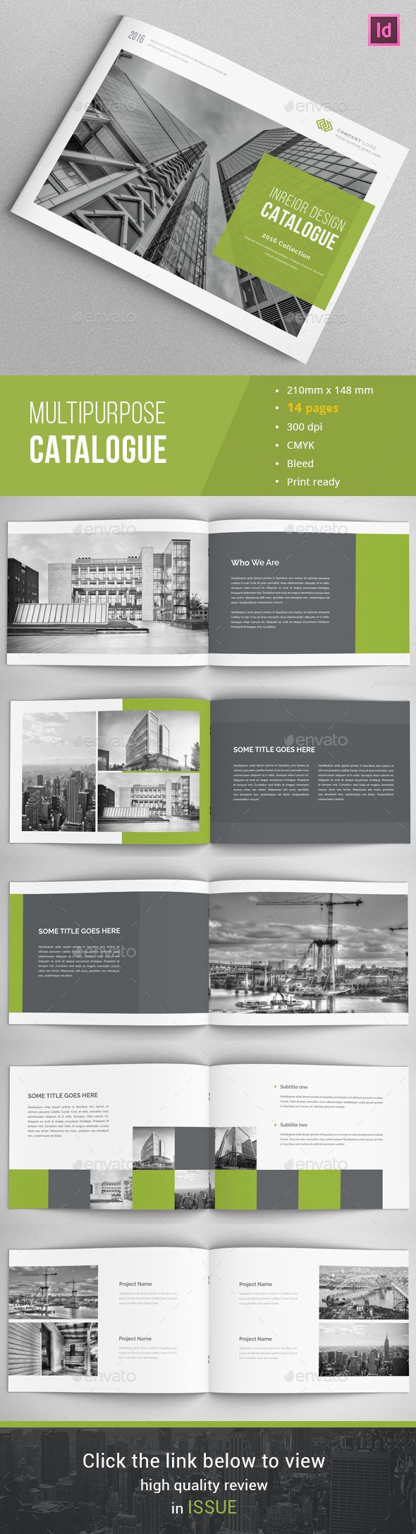 Modern Architecture Brochure   Brochure Template Brochures And